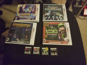 3DS games (8) - Pokemon / Metroid / call of duty ... for Sale in San Diego, CA