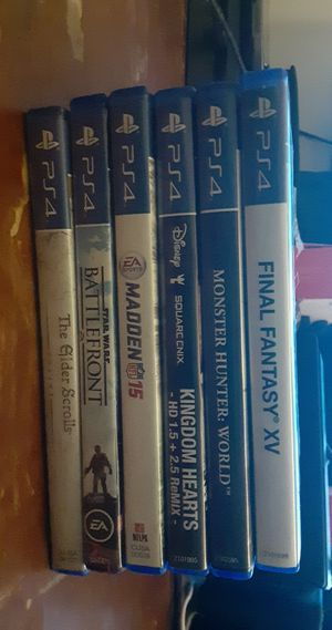 Ps4 games for Sale in Palm Beach Shores, FL