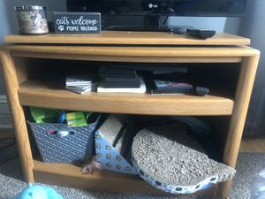 Wooden tv stand for Sale in Bridgewater, MA