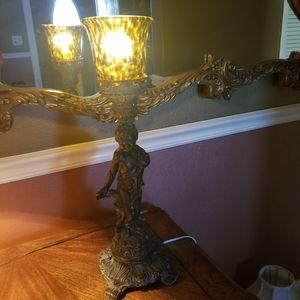 Cherub antique lamp for Sale in Miami, FL