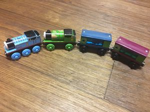 Thomas And Friends Wooden Railway Rare Carts!!! for Sale in Denver, CO