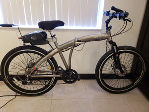 Electric Folding aluminum Bicycle for Sale in Fort Lauderdale, FL