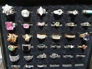 925 stamped rings and more for Sale in Pomona, CA