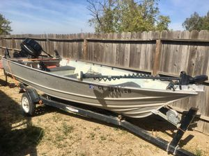 14 Ft. Aluminum boat for Sale in Corning, CA