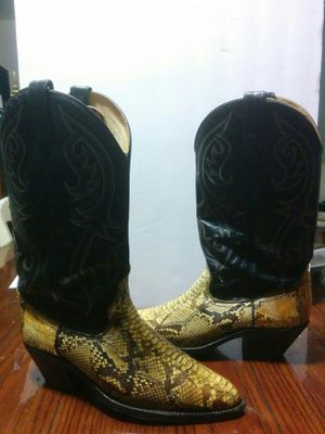 Men's Cowboy Leather Boots for Sale in Hoffman Estates, IL