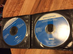 Dell computer software CD for Sale in Philadelphia, PA
