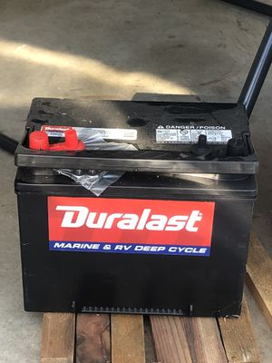 New Duralast marine and RV deep cycle battery for Sale in Murrieta, CA