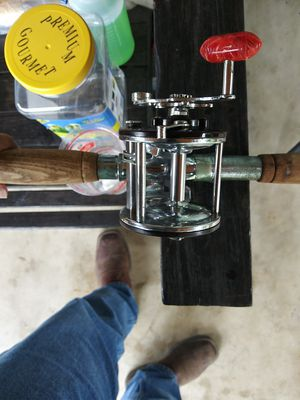 Penn 209 with rod for Sale in San Antonio, TX