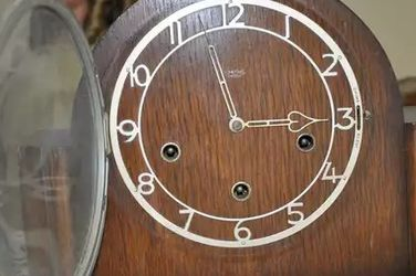 Smith Enfield Mantel Clock - Vintage English Post Utilitarian Style for Sale in Beaverton,  OR
