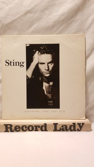"Sting ""Nothing like The Sun"" 2XLP vinyl records soft rock for Sale in San Diego, CA"