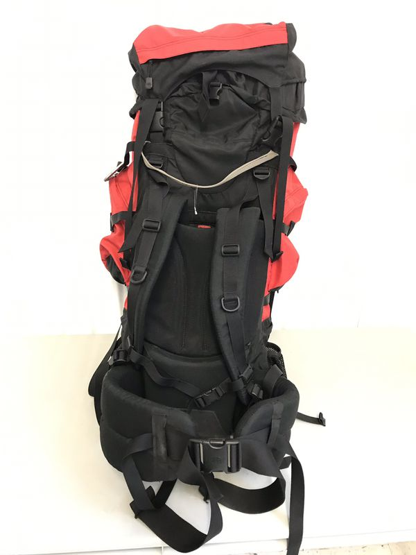 North Face Badlands Internal Frame Backpack Red Hiking Camping (M) And Tent, Etc