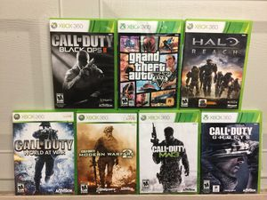 Xbox One or 360 Games Bundle For Sale *$50 For Everything* for Sale in Austin, TX