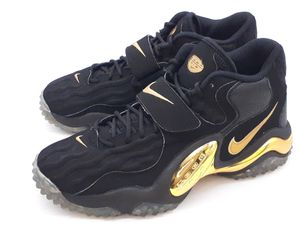 Nike Air Zoom Turf Jet 97 Hyper Black Gold Sneaker US10 Chrome Mirror 554989-005 for Sale in Hayward, CA