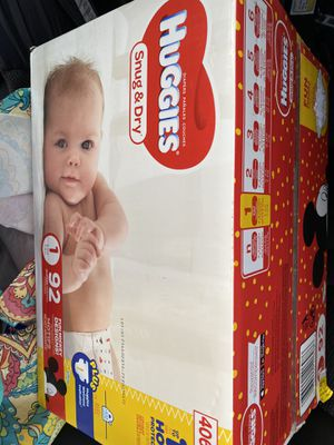Huggies size 1 Brand new pack FOR TRADE for Sale in San Antonio, TX