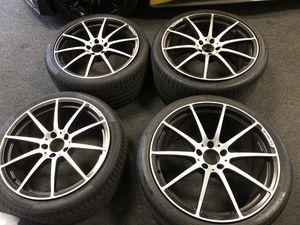 "20"" Mercedes Sls Gtr oem wheels rims original AMG tires for Sale in Alhambra, CA"