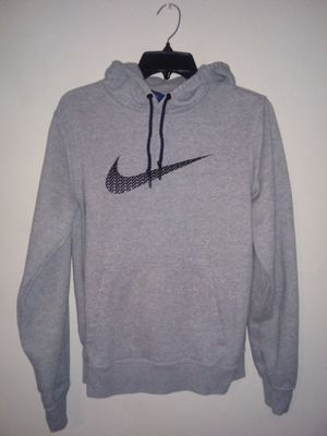 Girls grey nike hoodie size small for Sale in Bakersfield, CA