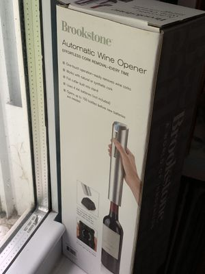 Brook stone automatic wine opener for Sale in West Lafayette, IN