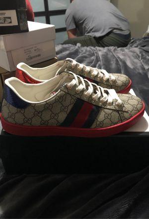 Gucci ace got supreme for Sale in San Bernardino, CA