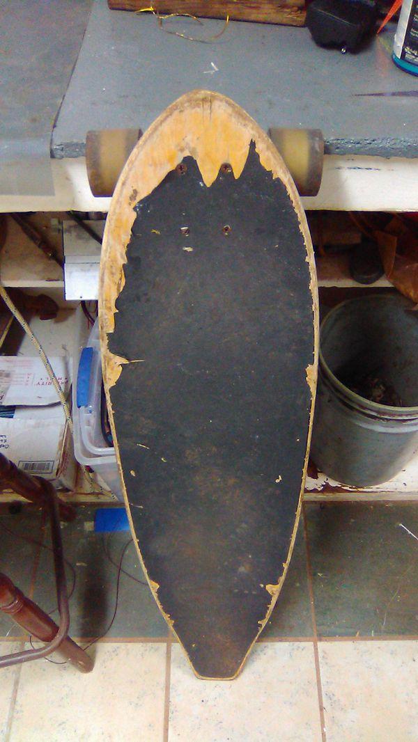 Long skate board