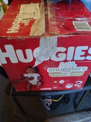 Huggies little snugglers size 2 for Sale in Coronado, CA