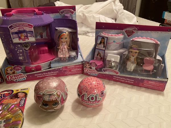 Various Girl Toys (LOL, Dream Dazzlers, etc)