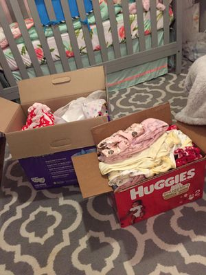 Huge baby girl lot! 95 articles of clothing!! for Sale in Springdale, AR
