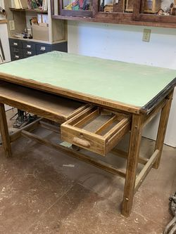 Hamilton Oak Drafting Table for Sale in Orlando,  FL