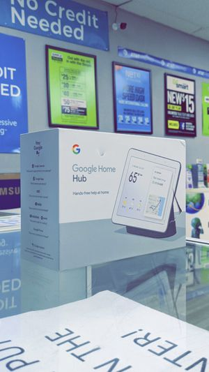 Nest Hub 7 Inch - Smart Display with Google Assistant - Charcoal! Brand New in Box! for Sale in Arlington, TX