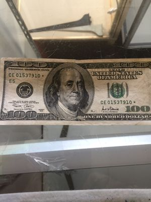 Star notes and $2.00 bills for Sale in Merrillville, IN