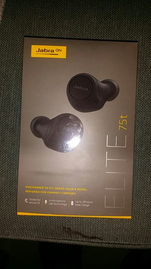 JABRA ELITE 75 T EAR BUDS for Sale in Oklahoma City, OK