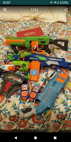 Nerfs/Laser Tag for Sale in Fountain Valley, CA