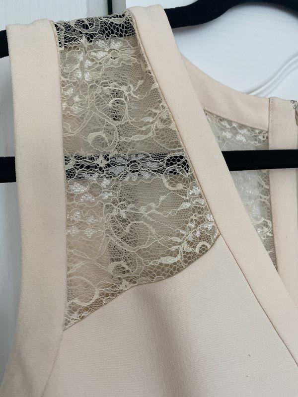 Anne Klein Cream Shift Dress