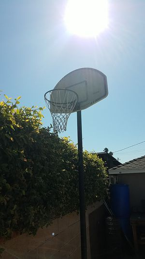 Basketball hoop and stand for Sale in West Covina, CA