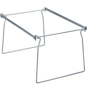 Smead Steel Hanging File Folder Frame, Legal Size, Gray, Adjustable Length for Sale in Phoenix, AZ