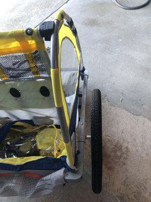 $150 Schwinn Echo Double Bike Trailer Yellow for Sale in San Francisco, CA