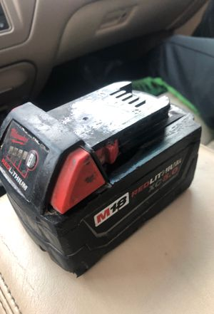 Milwaukee M18 Battery for Sale in Temple Hills, MD