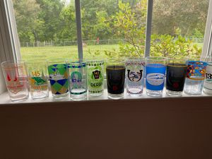 Kentucky derby glasses for Sale in Greer, SC