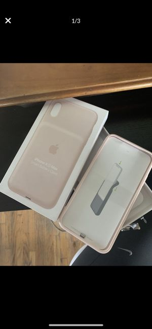 iPhone X Max Smart Battery Case for Sale in Los Angeles, CA