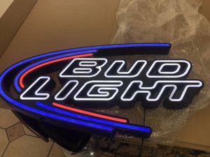 Bud light beer led sign for Sale in Frederick, MD