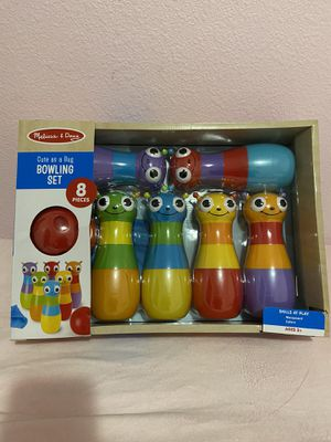 Melissa and Doug Cute as a Bug Bowling Set for Sale in Las Vegas, NV