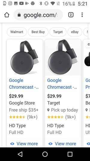 Chromecast brand new for Sale in Waterbury, CT