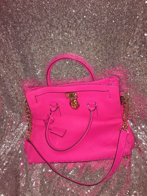 Authentic hot pink Michael Kors for Sale in US