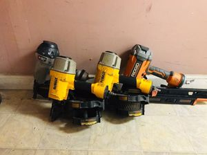 4 Nail Guns ( Can buy separately) for Sale in Yonkers, NY
