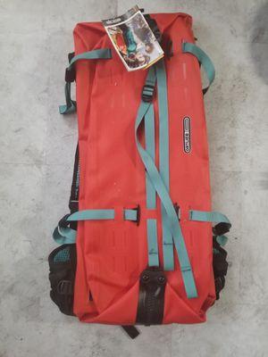 Ortlieb Atrack Waterproof Bicycle Backpack 45L, Signal Red/Aqua Blue for Sale in Colorado Springs, CO