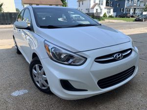 2016 Hyundai Accent wht/gry 65k miles Clean title Paid off Clean car for Sale in Baldwin, NY