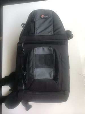 Lowepro Camera Sling bag backpack for Sale in Plainfield, IL
