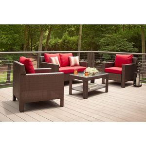 Hampton Bay Beverly Deep Seating Patio Furniture for Sale in Kenneth City, FL