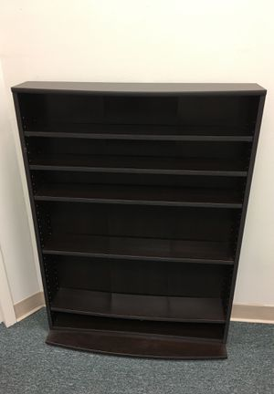 Media storage tower- cinnamon cherry for Sale in Silver Spring, MD