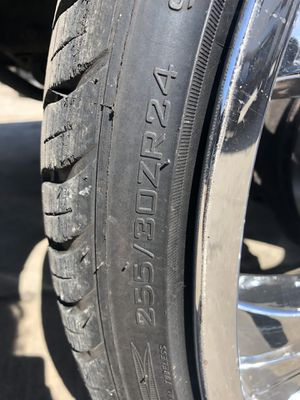 "Brand new 24"" inch tire 255/30ZR24 for Sale in Chicago, IL"