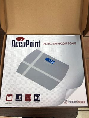 New led digital bathroom scale for Sale in Houston, TX